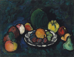 Ilya Ivanovich Mashkov. Still life with fruit