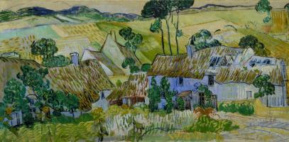 Vincent van Gogh. Farm near Overa