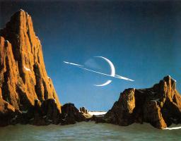 Чесли Бонестелл. Сатурн