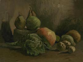 Винсент Ван Гог. Натюрморт с овощами и фруктами