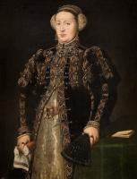 Антонис ван Дасхорст Мор. Екатерина Габсбургская, жена короля Португалии Иоанна III