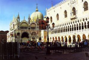 Рафаэлла Спенс. Площадь Святого Марка в Венеции