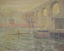 Эрнест Лоусон. Высокий мост