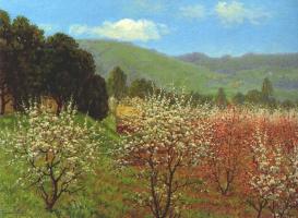Теодор Ворес. Деревья в цвету