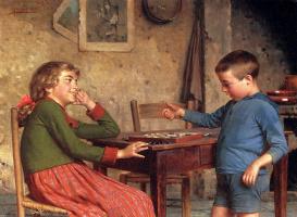 Витторио Реггианини. Игры детей