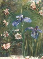 Джон Лафарг. Синие цветы