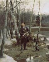 Илларион Михайлович Прянишников. На тяге. 1881
