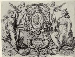 Франческо Каваццони. Герб кардинала Франческо Сфорца