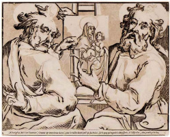 Жорж Лаллеман. Евангелисты Марк и Лука