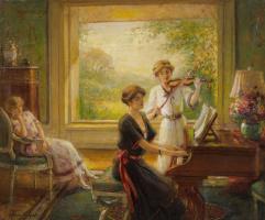 Альберт Линч 1851-1912 перуанский художник. Новая партитура.