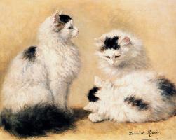 Генриетта Роннер-Книп. Наброски котов породы мейн-кун