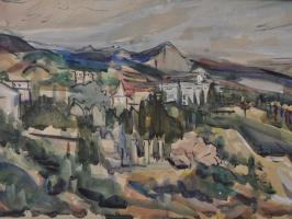 Mikhail Tsezarevich Rabinovich. In the mountains