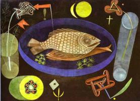 Пауль Клее. Натюрморт с рыбой