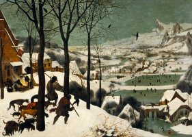 Питер Брейгель Старший. Охотники на снегу