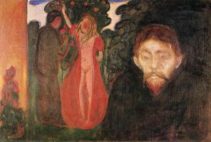 Edward Munch. Jealousy