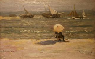 Феликс  Бюо. Поэт и море