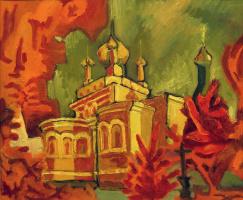 Мария Анатольевна Бондарь. 0025 Красные деревья