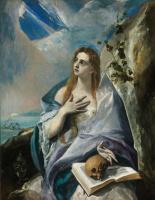 Эль Греко (Доменико Теотокопули). Кающаяся Мария Магдалина