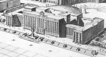 The Project Of The Leningrad House Of Soviets.