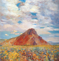 Childe Hassam. Sand Springs Butte
