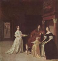 Якоб Лукас Охтервельт. Портрет голландской семьи