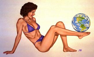 Марк Блантон. Земной шар