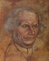Lucas Cranach the Elder. Portrait of father Luther