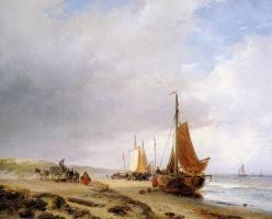 Андреас Схелфхаут. Пляжный вид