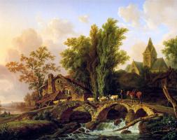 Анри Ван Аш. Пересечение моста
