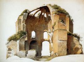 Йозефус Книп. Храм Минервы Медика в Риме