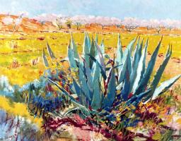 Франсиско Себастьян. Цветущие сады