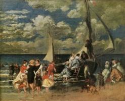 Pierre-Auguste Renoir. Return from boat trips