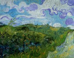 Винсент Ван Гог. Зеленые пшеничные поля