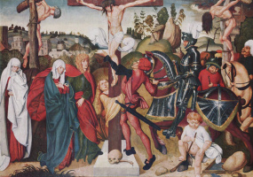 Jörg Bray the Elder. Abaharaki the altar: the Crucifixion