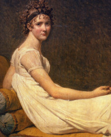 Jacques-Louis David. Portrait of Madame Récamier. Fragment II