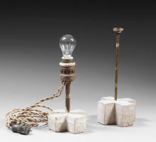 Константин Бранкузи. Две лампы.