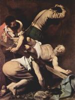 Микеланджело Меризи де Караваджо. Распятие святого Петра