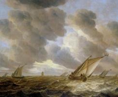 Ян ван Бейерен. Морской пейзаж