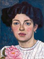 Елизавета Сергеевна Кругликова. Портрет Н.С. Кругликовой. 1906