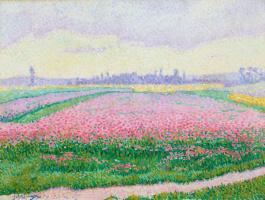 Jean Metzinger. Blooming field near Caen (Normandy)