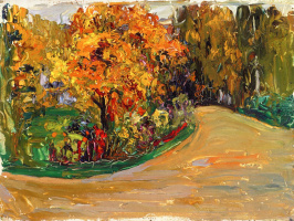 Wassily Kandinsky. Park in the autumn