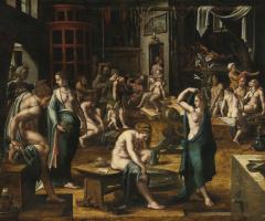 Bathhouse. 1540-1550