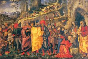 Bernardo Parentino. The adoration of the Magi