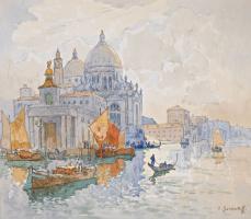 Константин Иванович Горбатов. Венеция. Церковь Санта Мария делла Салюте