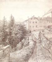 Иоганн Генрих Фердинанд Оливье. У монастыря