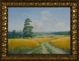Василий Коркишко. The road in the rye