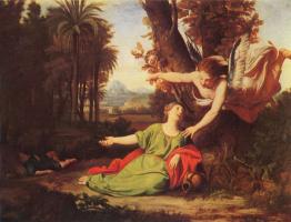 Николя Коломбель. Агарь и Измаил в пустыне