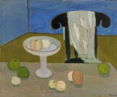 Туве Янссон. Натюрморт с фруктами на столе