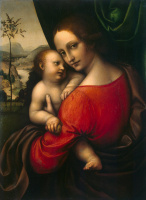 Джампетрино. Мадонна с младенцем