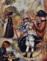 Pierre-Auguste Renoir. In the Luxembourg gardens